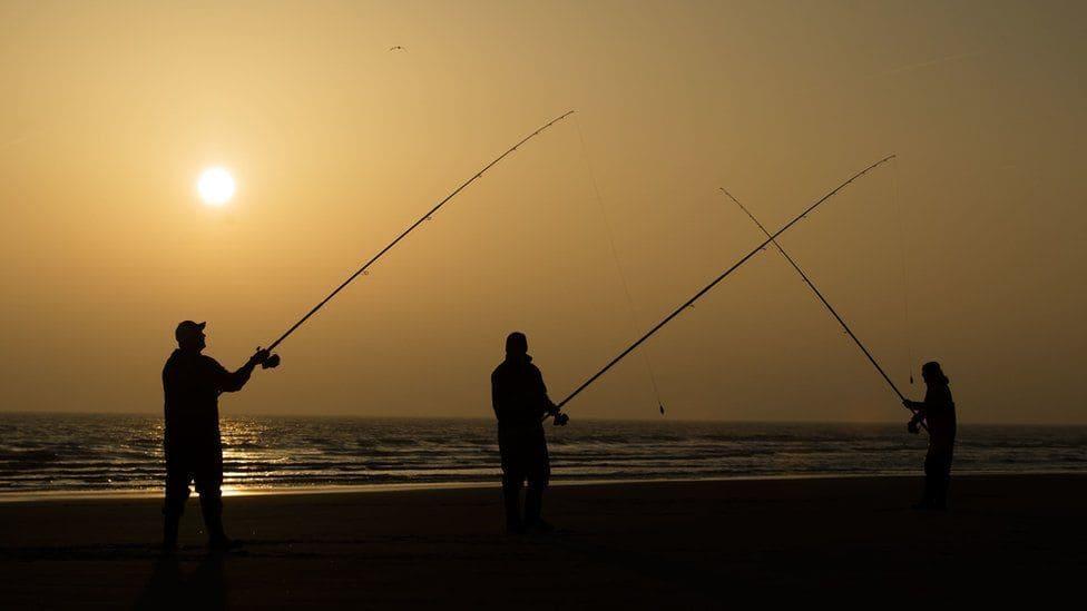 Du som fiskar för att tävla