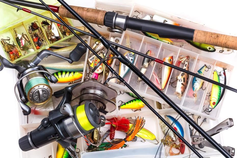 Handla fiskeutrustning på nätet