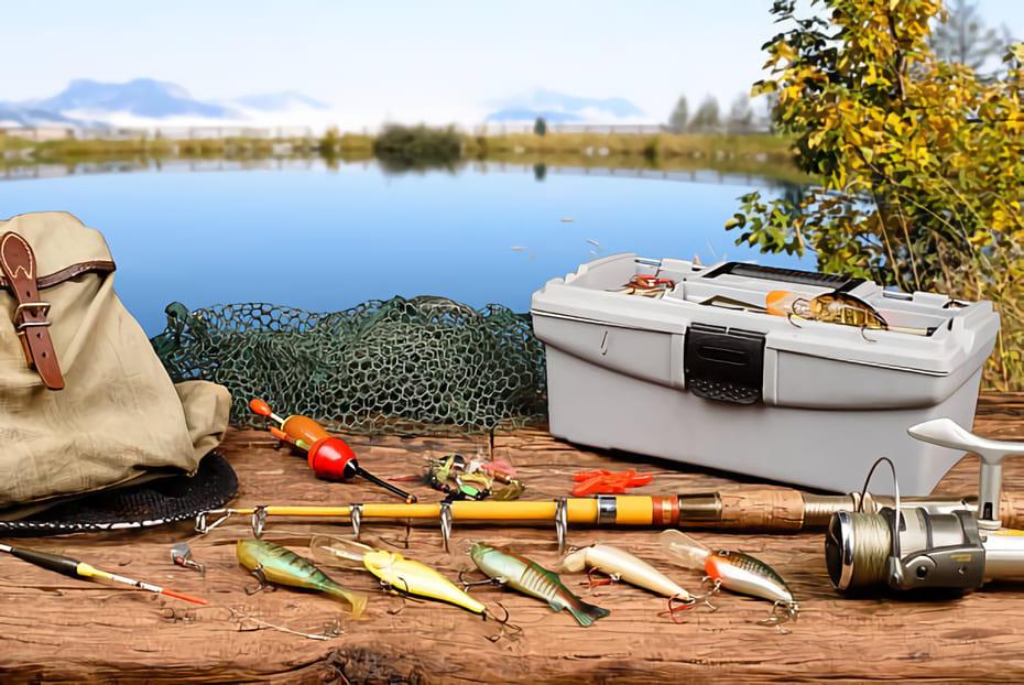 Webbutiker som säljer fiskeutrustning
